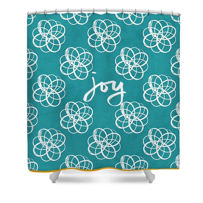 Bright Color Flower Shower Curtains