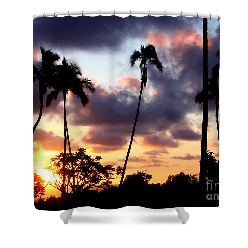 Sunrise Shower Curtain featuring the photograph Just Another Sunrise In Paradise by Mary Deal