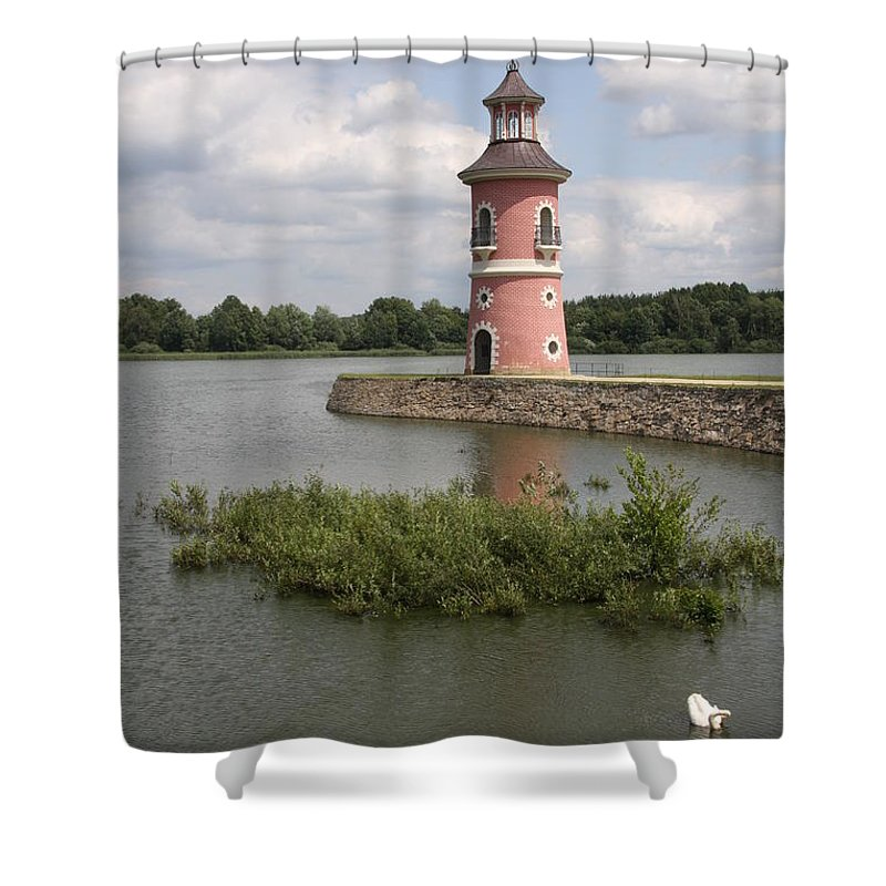 Lighthouse Shower Curtain featuring the photograph Just For Fun by Christiane Schulze Art And Photography