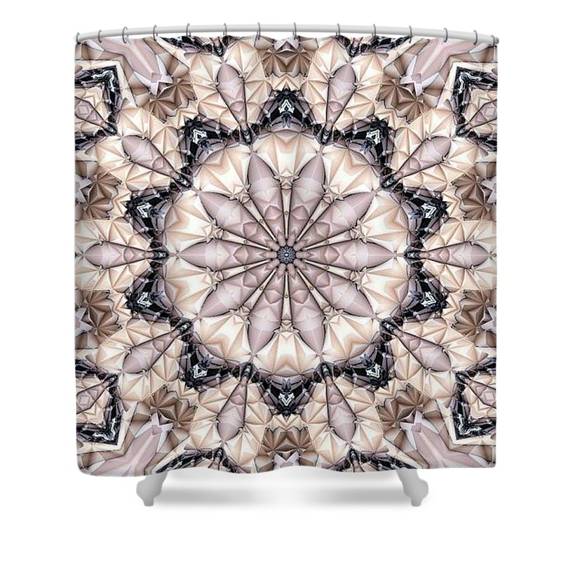 Kaleidoscope Shower Curtain featuring the photograph Kaleidoscope 21 by Ron Bissett