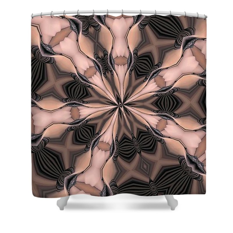 Kaleidoscope Shower Curtain featuring the photograph Kaleidoscope 27 by Ron Bissett