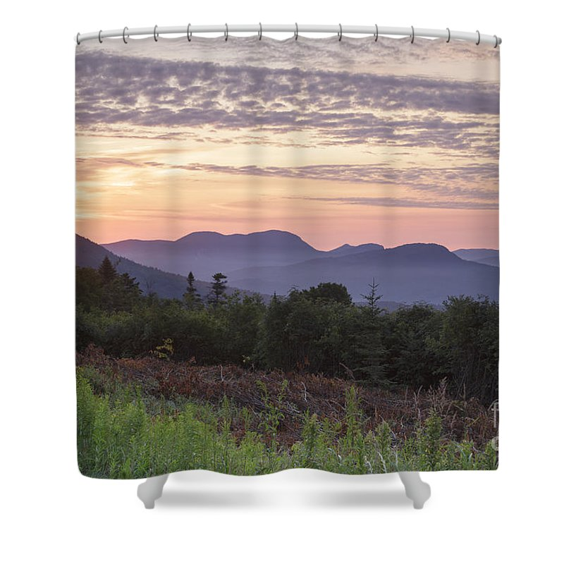 C.l. Graham Wangan Grounds Shower Curtain featuring the photograph Kancamagus Highway - White Mountains New Hampshire USA by Erin Paul Donovan