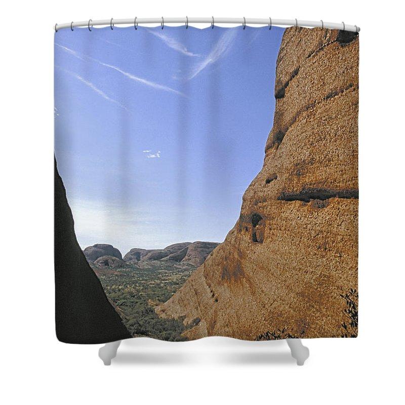 Australia Shower Curtain featuring the photograph Kata Tjuta Australia 1 by Rudi Prott