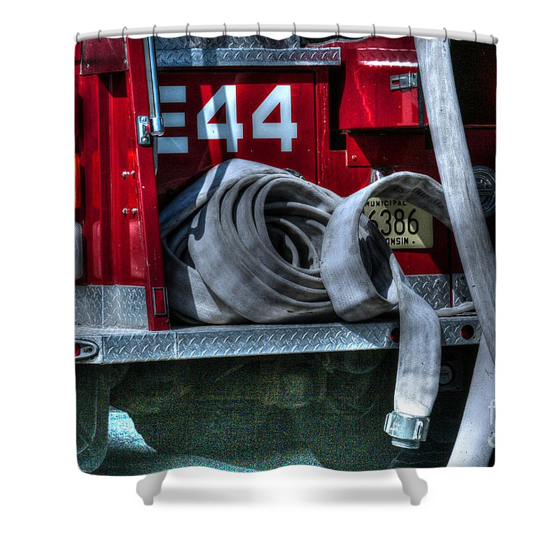 Fire Shower Curtain featuring the photograph Keep Fire In Your Life No 11 by Tommy Anderson