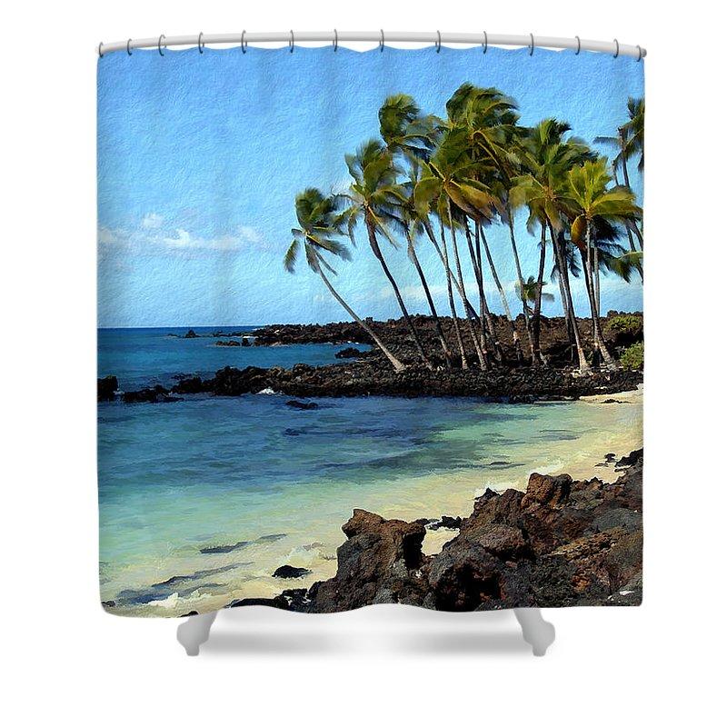 Hawaii Shower Curtain featuring the photograph Kekaha Kai II by Kurt Van Wagner