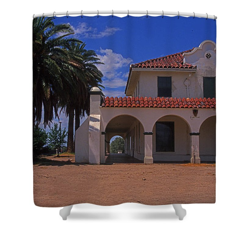 California Shower Curtain featuring the photograph Kelso Station by Rich Walter