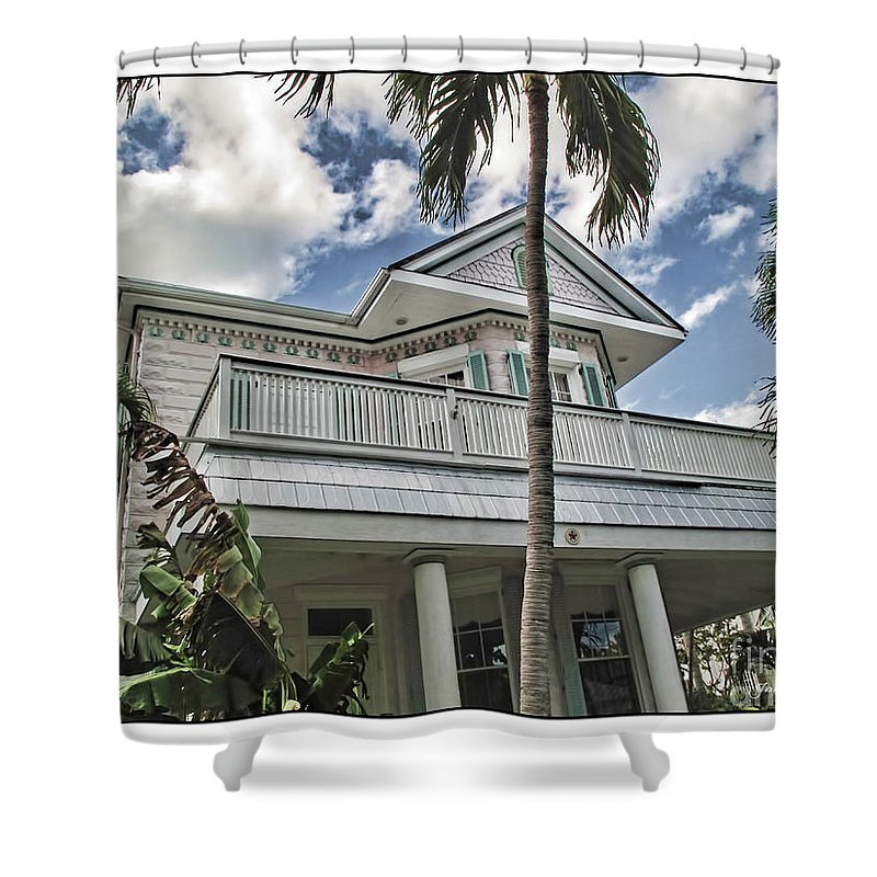Key West Shower Curtain featuring the photograph Key West Dreaming by Joan Minchak