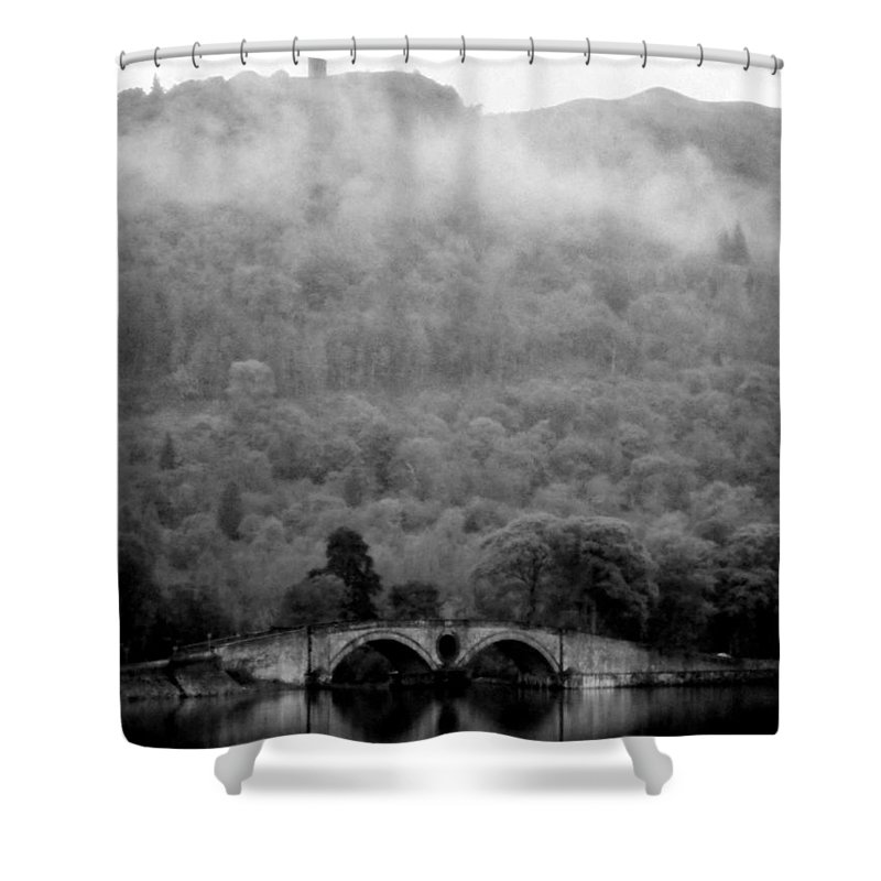 Stone Bridge Shower Curtain featuring the photograph Kintyre... Plus.15 by Peter Mcclure