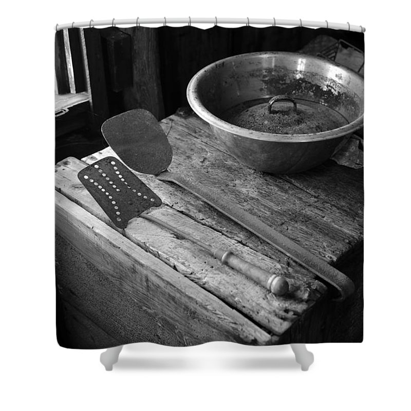Shower Curtain featuring the photograph Kitchen6787 by David Lee Thompson
