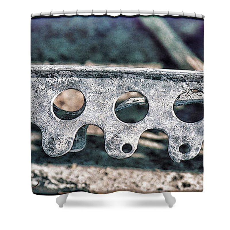 Abstract Art Shower Curtain featuring the photograph Lace I by Sylvia Thornton