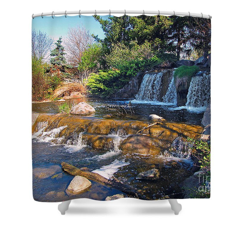 Cedric Hampton Shower Curtain featuring the photograph Lake Katherine 1 by Cedric Hampton