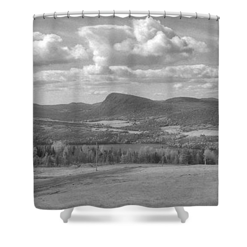 Lake Willoughby Shower Curtain featuring the photograph Lake Willoughby Vermont by Richard Rizzo