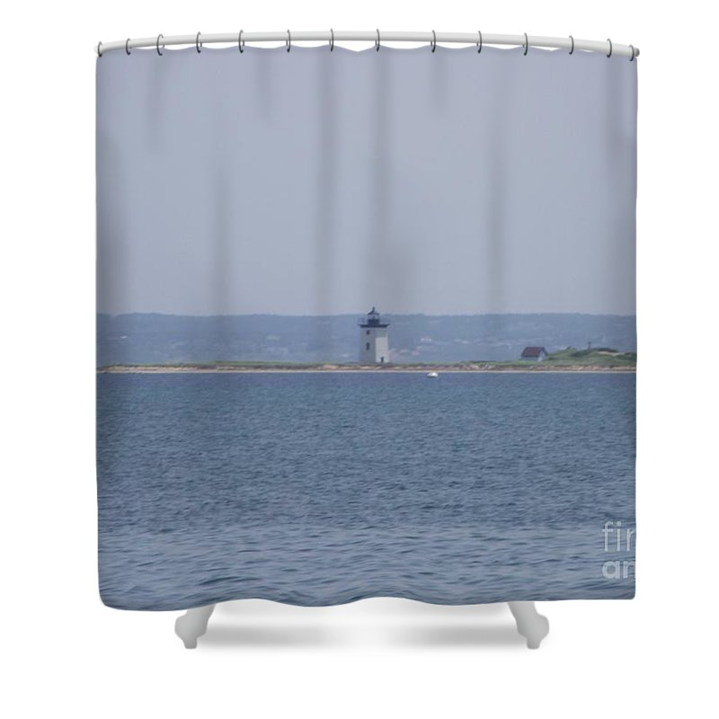 Provincetown Shower Curtain featuring the photograph Land's End by Michelle Welles