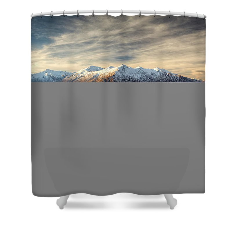 Tranquility Shower Curtain featuring the photograph Landscape Of Wanaka by Joao Inacio