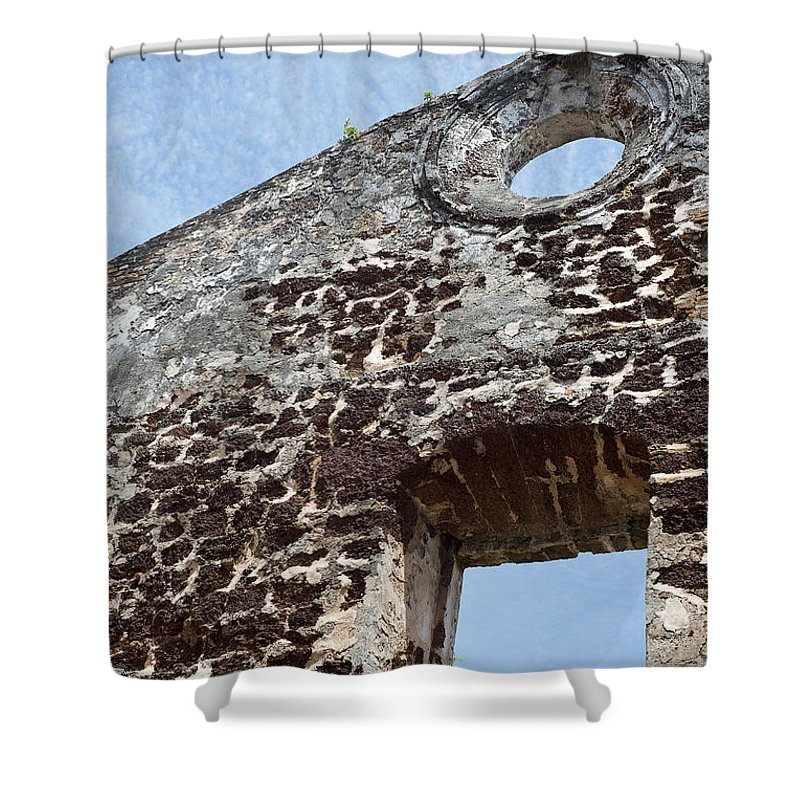 Malacca Shower Curtain featuring the photograph Last Fortress by Ivy Ho
