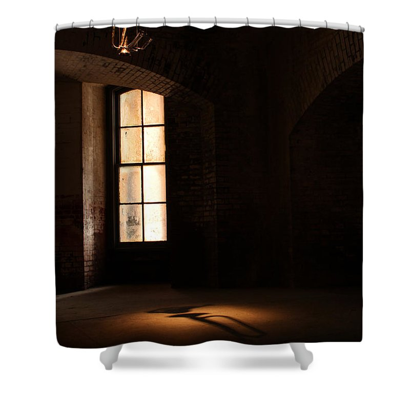 Fort Point Shower Curtain featuring the photograph Last Song by Suzanne Luft