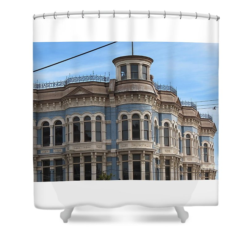 Port Shower Curtain featuring the photograph Left In Time by LeLa Becker