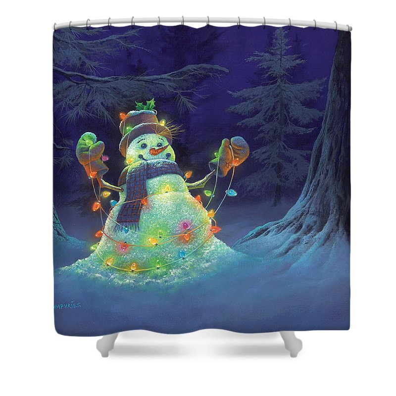 Christmas Shower Curtains | Fine Art America