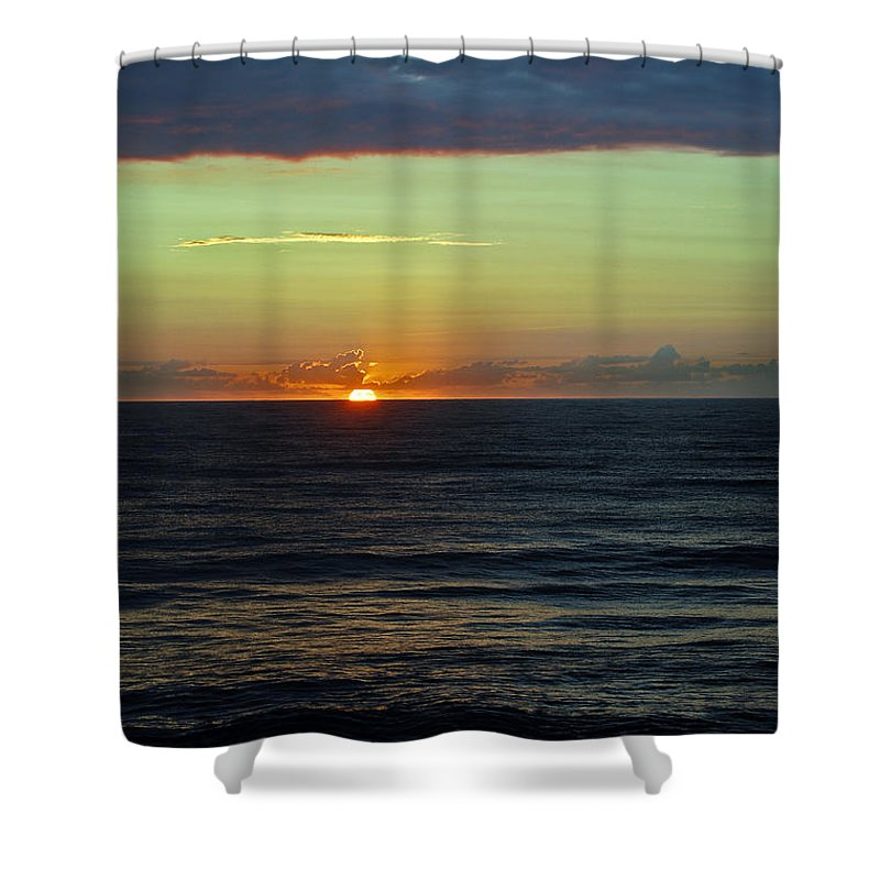 Sunrise Shower Curtain featuring the photograph Let There Be Light by Skip Willits
