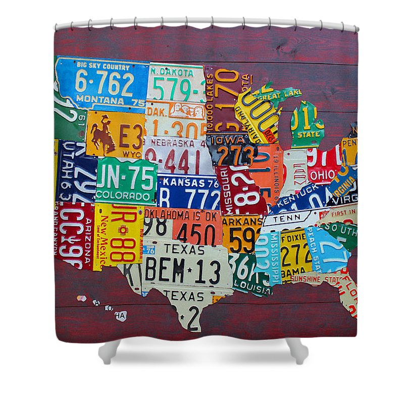 Indiana Mixed Media Shower Curtains