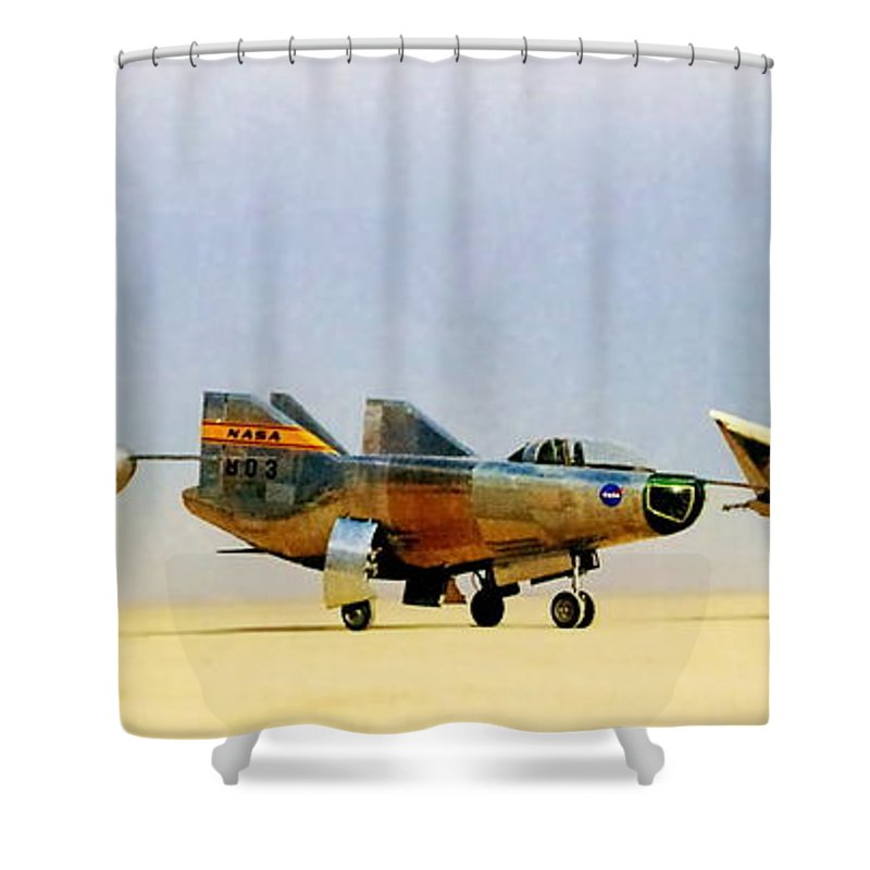 Nasa Shower Curtain featuring the photograph Lifting Bodies by Benjamin Yeager