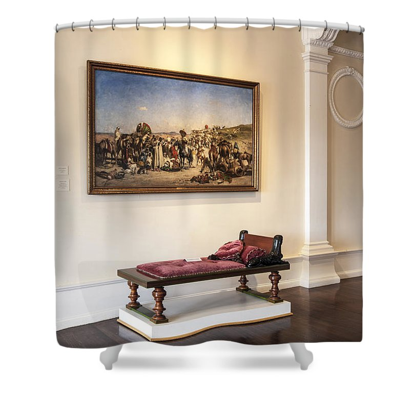 Lightner Museum Shower Curtain featuring the photograph Lightner Museum 6 by Rich Franco