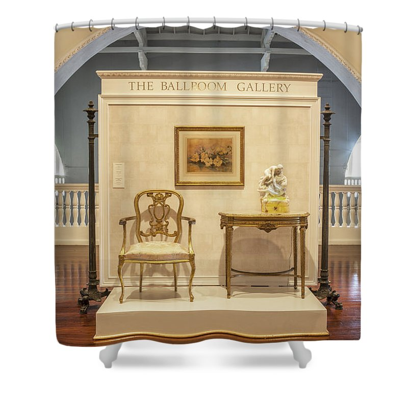Lightner Museum Shower Curtain featuring the photograph Lightner Museum 8 by Rich Franco