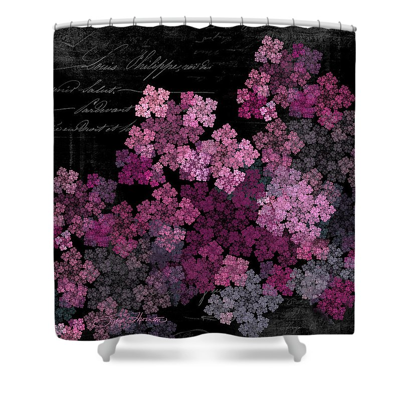 Lilac Shower Curtain featuring the photograph Lilacs by Sylvia Thornton