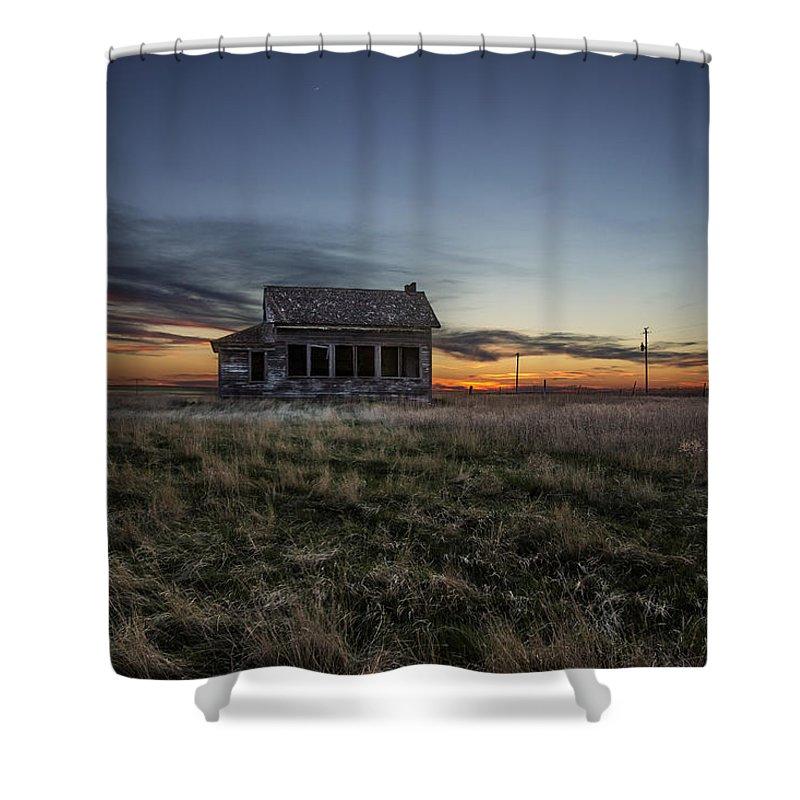 Prairie Sunset Shower Curtains
