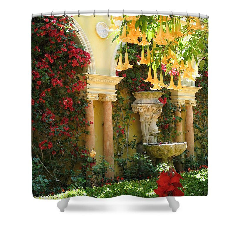 Dolphin Shower Curtain featuring the photograph Little Paradise II by Christiane Schulze Art And Photography