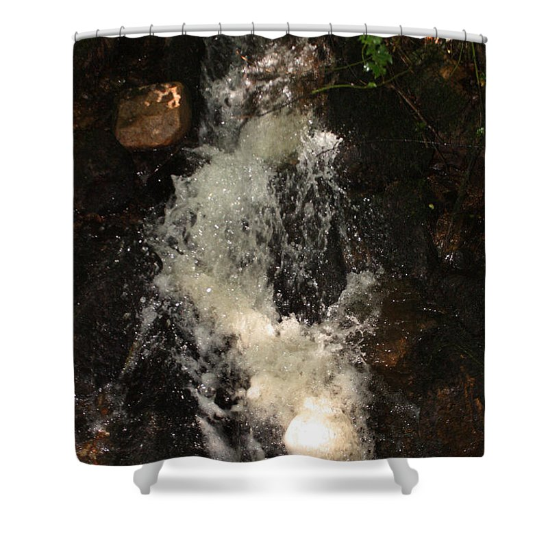 Canal Shower Curtain featuring the photograph Llangollen And Maelor Country Waterfalls by Doc Braham