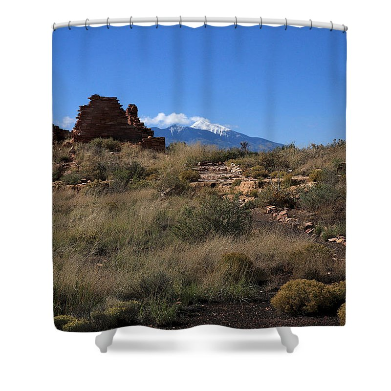 Ruins Shower Curtain featuring the photograph Lomaki by Joe Kozlowski