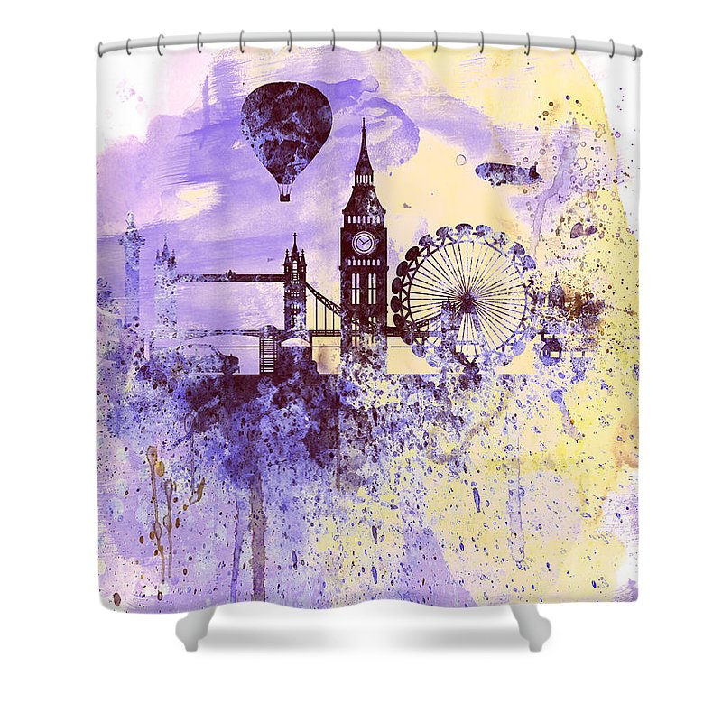 City Of London Shower Curtains