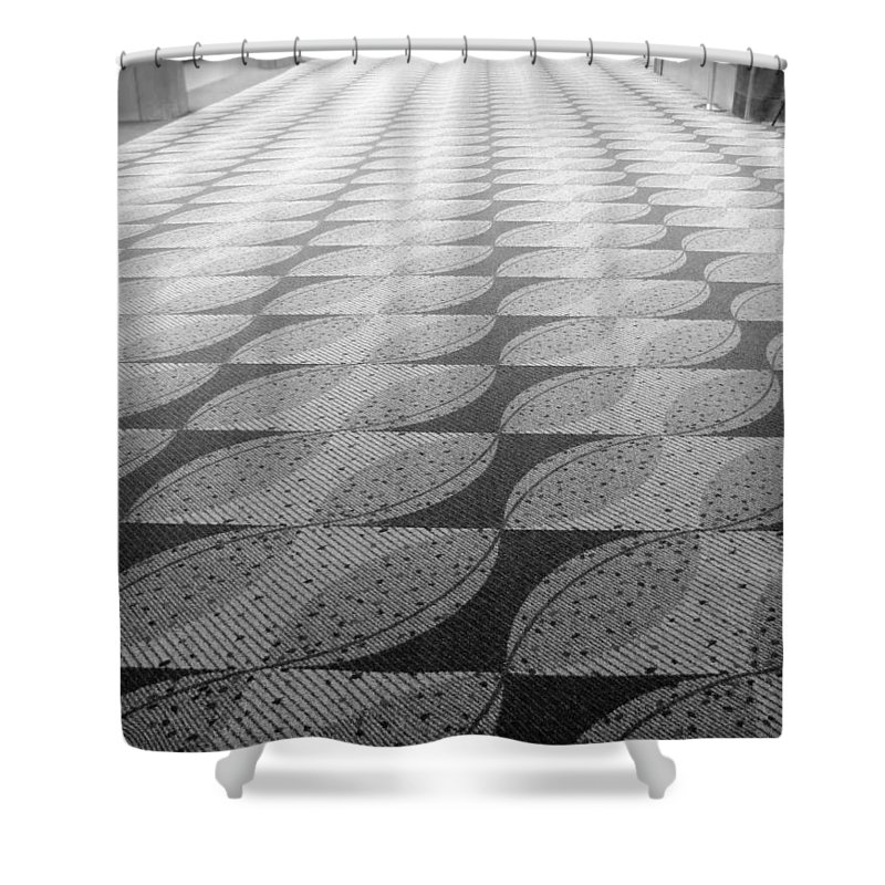 Alone Shower Curtain featuring the photograph Lonely Airport by Katie Wing Vigil