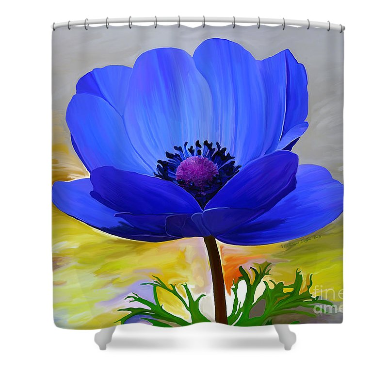 Fine Art Shower Curtain featuring the painting Lord Lieutenant by Patricia Griffin Brett