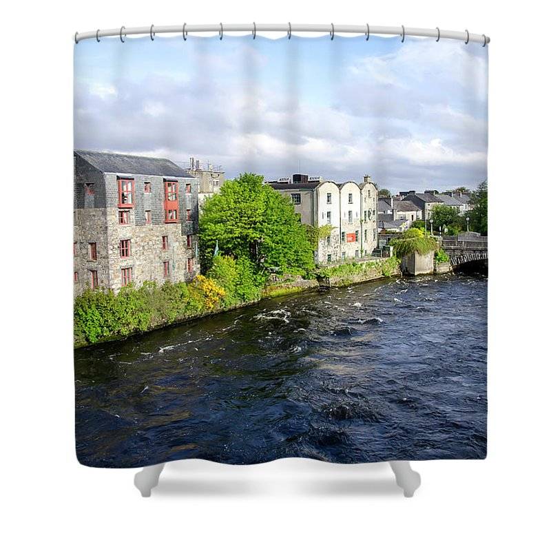 Tranquility Shower Curtain featuring the photograph Lough Corrib Galway City Ireland by M Timothy O'keefe