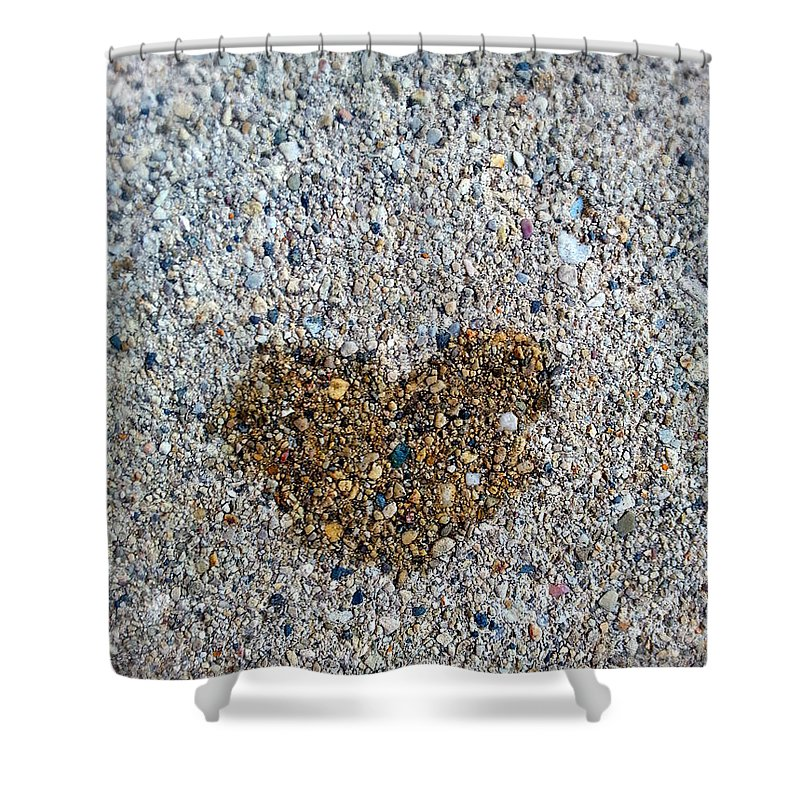 Love Is Everywhere Shower Curtain featuring the photograph Love Is Everywhere by Jessica Tolemy