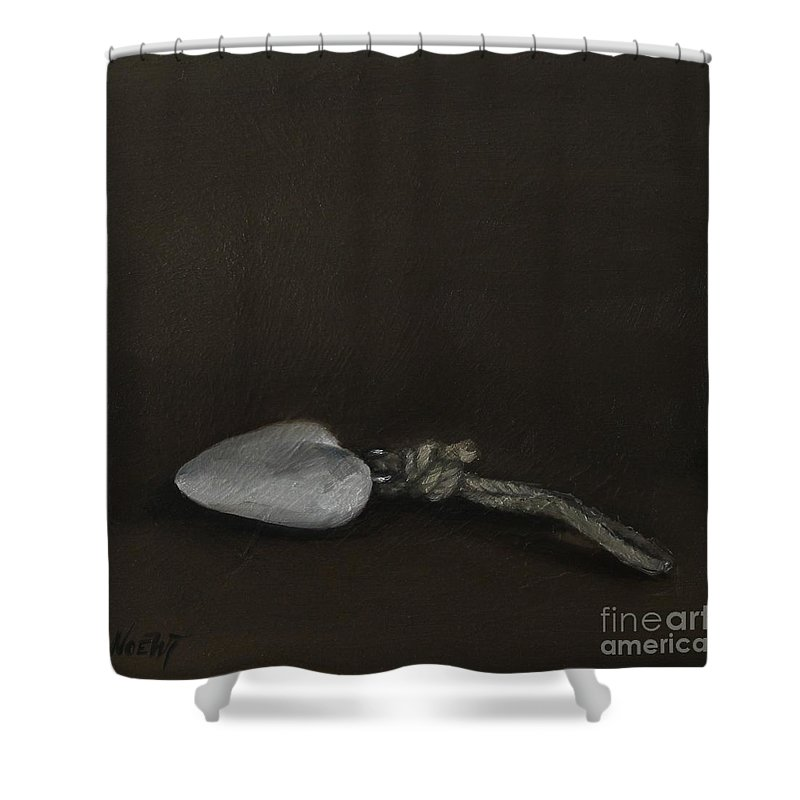 Noewi Shower Curtain featuring the painting Lovely Memories by Jindra Noewi