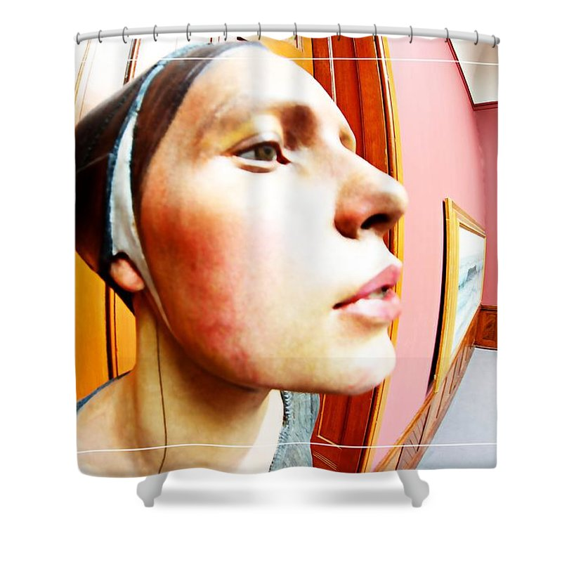 Profile Shower Curtain featuring the photograph Lovely Profile by Alice Gipson