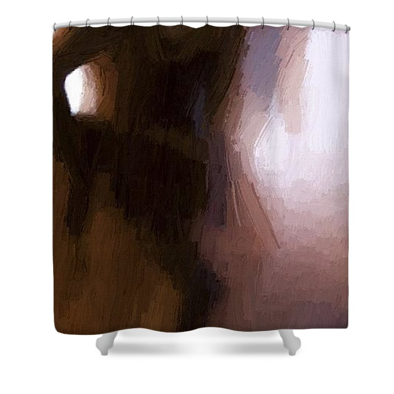 Sex Paintings Shower Curtains