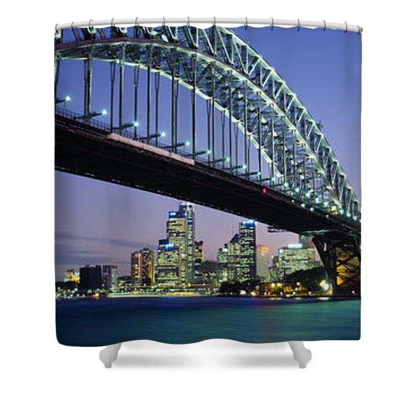 Sydney Opera House Shower Curtains