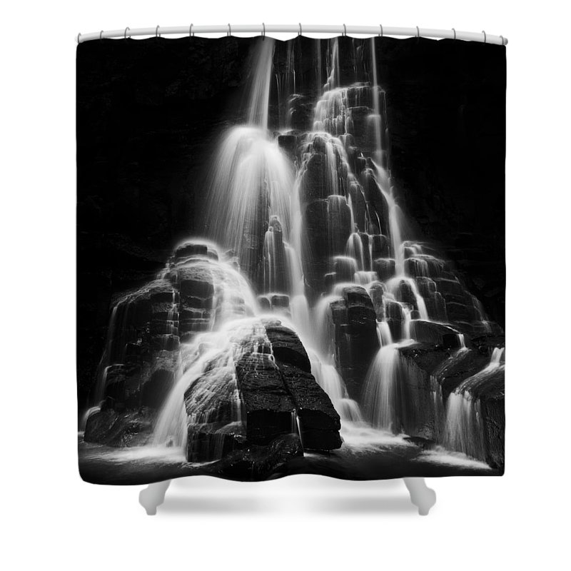Michele Shower Curtain featuring the photograph Luminous Waters I by Michele Steffey