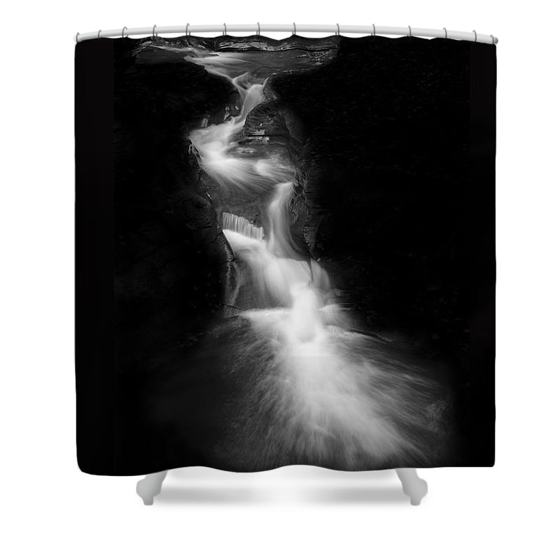 Michele Shower Curtain featuring the photograph Luminous Waters IIi by Michele Steffey
