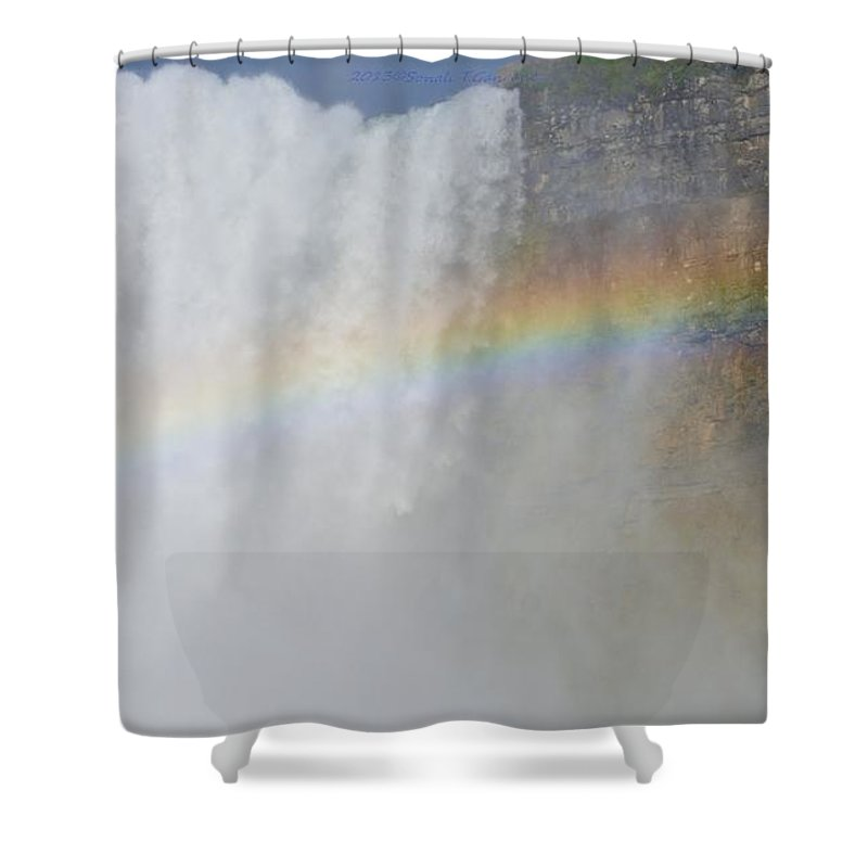 Magical Seven Colours Shower Curtain featuring the photograph Magical Seven Colours by Sonali Gangane