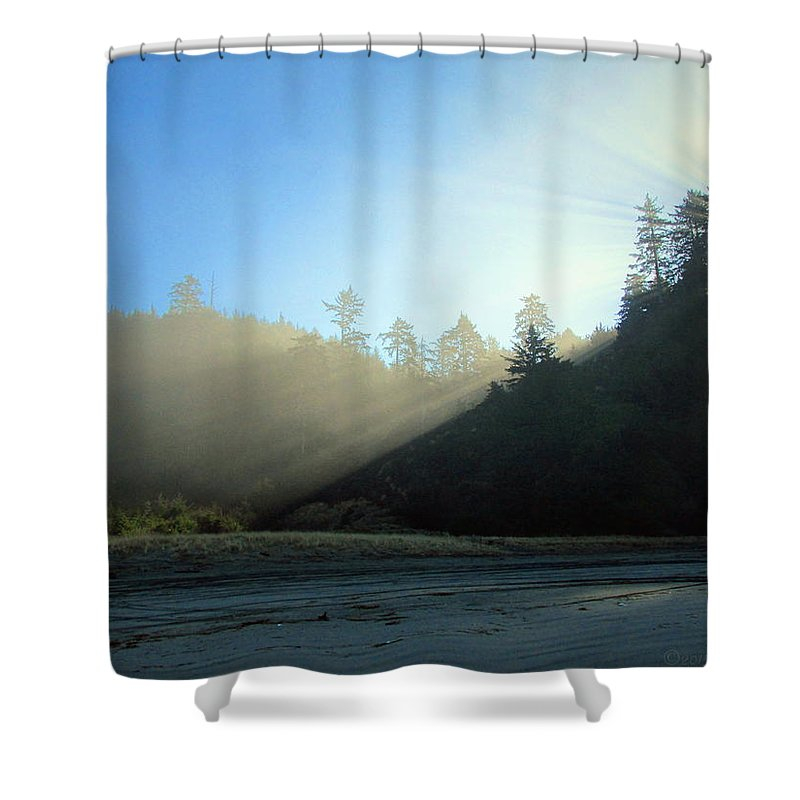 Light Shower Curtain featuring the photograph Magnificent Light One by Joyce Dickens