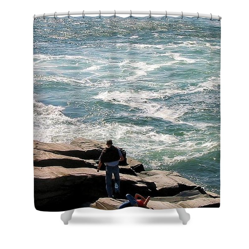 Maine Shower Curtain featuring the photograph Maine 2002 I by Robert McCulloch