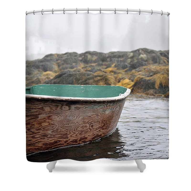 Maine Shower Curtain featuring the photograph Maine Morning 3 by Terri Winkler