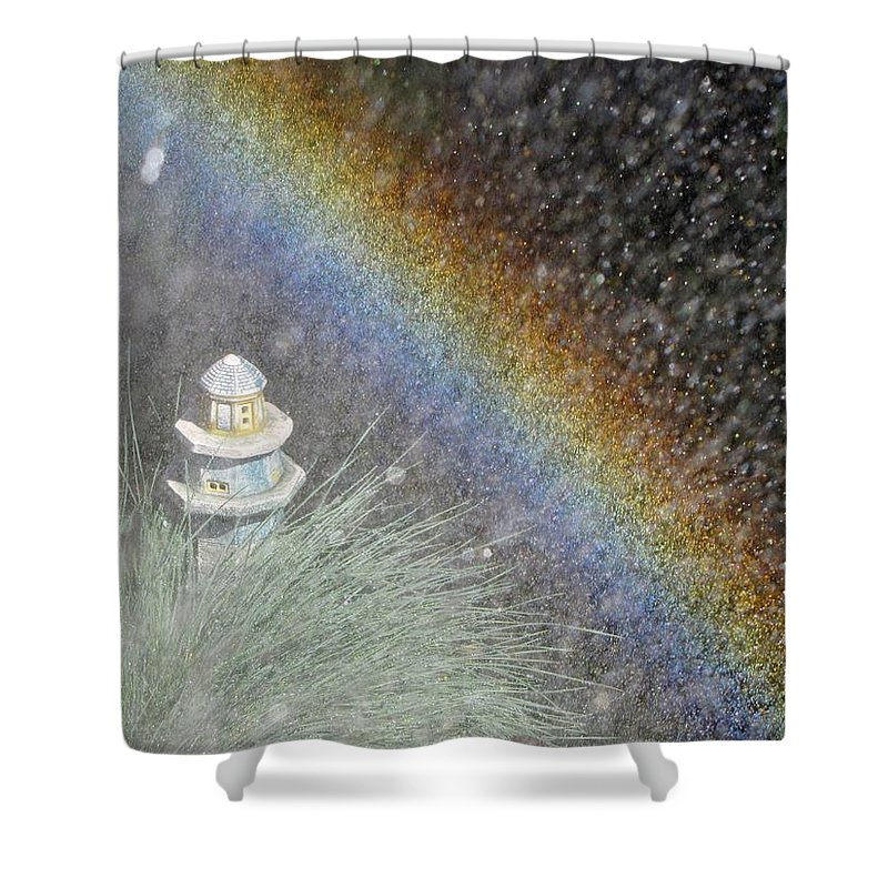 Nature Shower Curtain featuring the photograph Make Your Own Rainbow by Matt Taylor