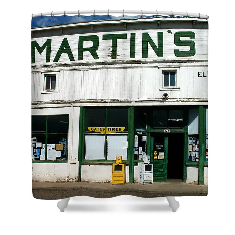 Martin's Shower Curtain featuring the photograph Martin's by Gia Marie Houck