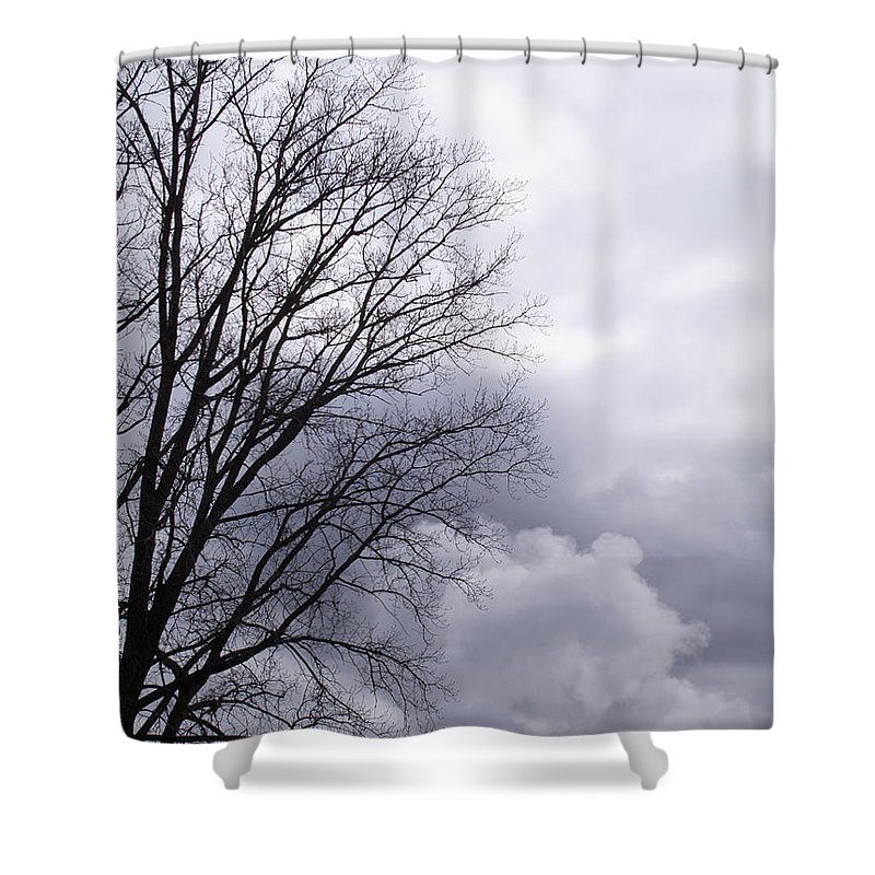 Emissions Shower Curtain featuring the photograph Masquerading As Cloud by Ann Horn